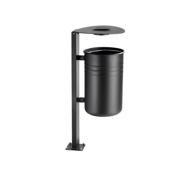 Afvalbak model luna afvalbak luna for Cestini portarifiuti arredo urbano prezzi