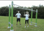 Outdoor fitness Swing-along