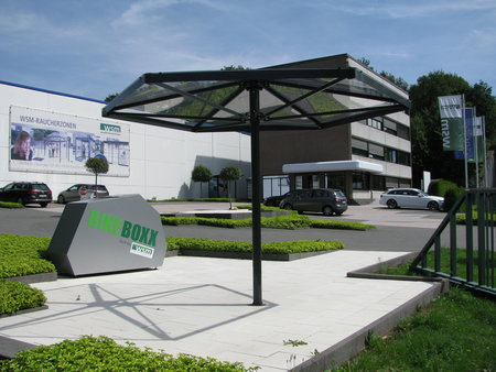 Rookoverkapping meetingpoint Regenburg