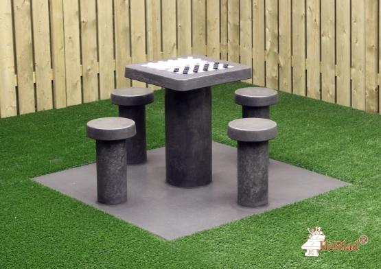 Beton Tafel Buiten : Betonnen schaaktafel schaakspel