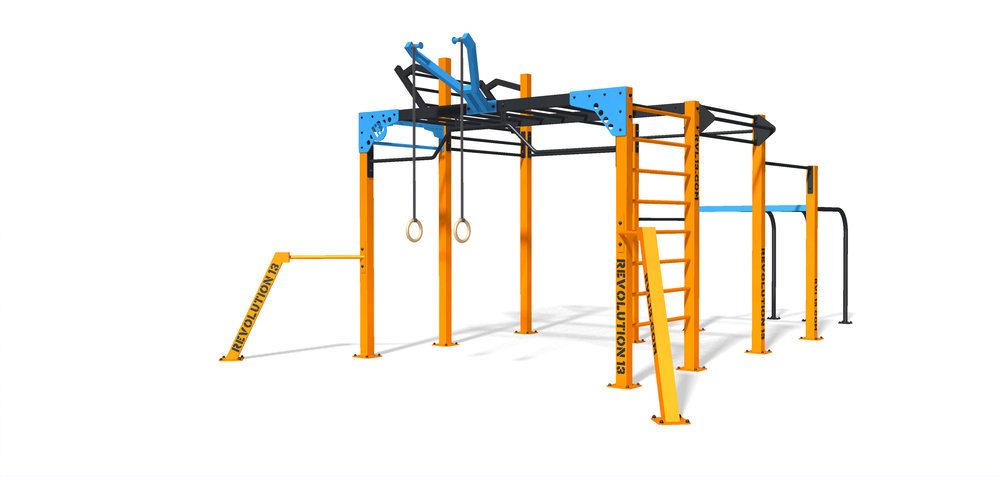 Outdoor fitness station Nippur M